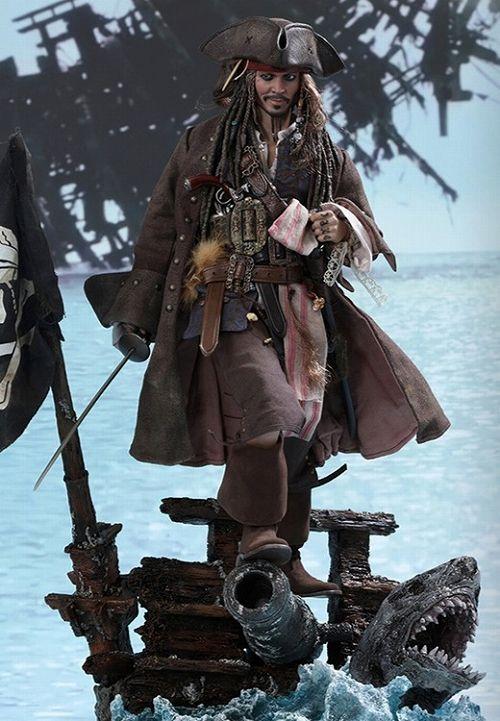 【お一人様3点限り】パイレーツ・オブ・カリビアン 最後の海賊/ ムービー・マスターピース デラックス 1/6 フィギュア: ジャック・スパロウ