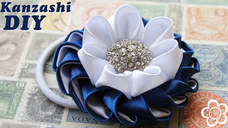 Kanzashi / Video tutorial / DIY