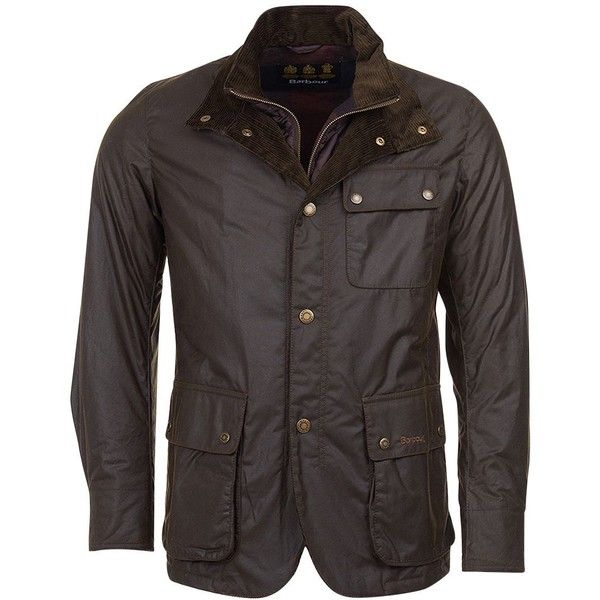 Barbour Men's Connel Jacket ($479) ❤ liked on Polyvore featuring men's fashion, men's clothing, men's outerwear, men's jackets, olive, mens jackets, mens quilted jacket, mens army green jacket and barbour mens jackets
