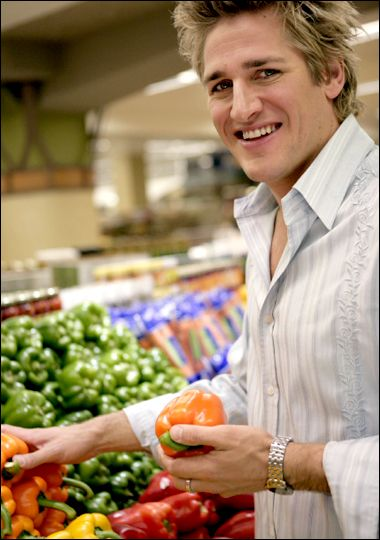 Curtis Stone -- Take Home Chef :) I love watching him cook.  He makes it look so easy.  I'd love to try one of his meals.
