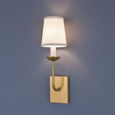 82 aged brass norwell lighting circa two light wall sconce