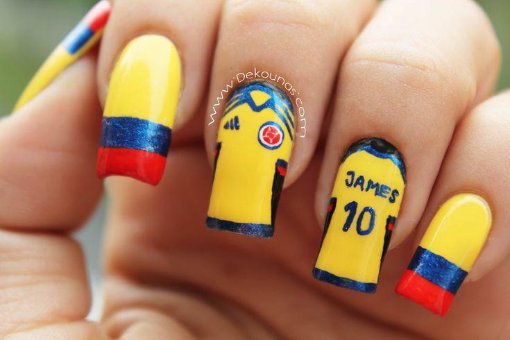 Decoración de uñas Colombia - Colombia nail art