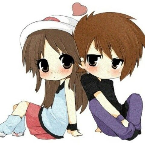 #Chibi #love #couple | Dessins | Pinterest | Dessin