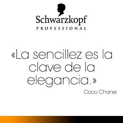 La sencillez es la clave de la elegancia. Coco Chanel quote