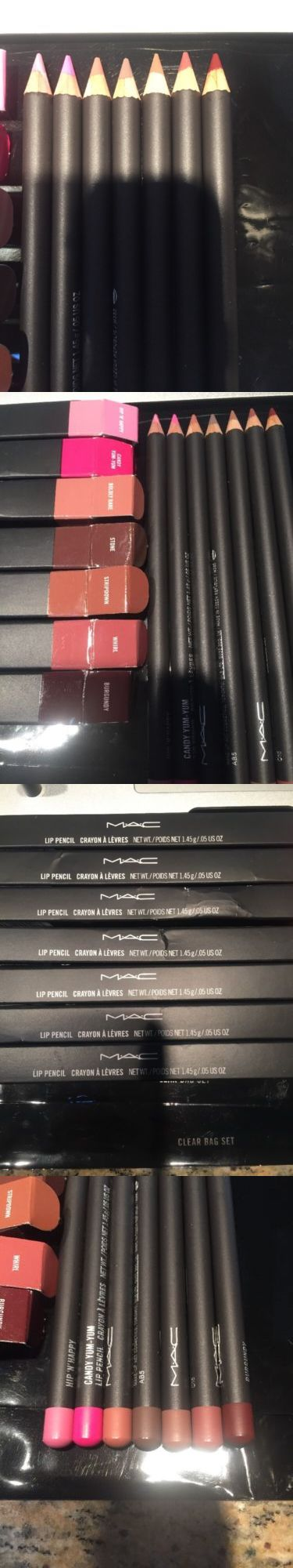 Lip Liner: Mac 7 Lip Pen Burg, Whirl, Stripdown,Stone,Boldlybare, Candy Yum Yum,Hip N Happy BUY IT NOW ONLY: $99.99