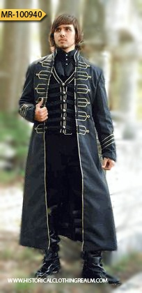 Find a variety of men's Renaissance clothing and medieval costumes.  Shop our store to find Renaissance shirts, tunics, doublets, vests, and more.