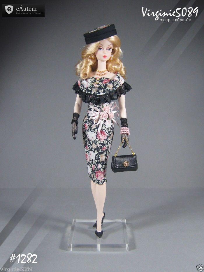 Tenue Outfit Accessoires Pour Fashion Royalty Barbie Silkstone Vintage 1282 | eBay