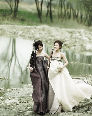 Korean {Hanbok} Wedding Dresses Gown