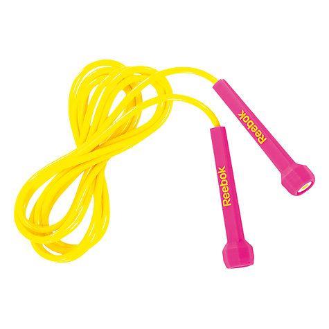 Buy Reebok Speed Skipping Rope, Pink Online at johnlewis.com