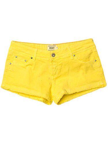 Roxy Coline Flat Women's Shorts Bleached Yellow Medium UK 10 Roxy - £34.99 at Purple Fairy Princess Boutique http://www.amazon.co.uk/dp/B006FG2MJ0/ref=cm_sw_r_pi_dp_vtu3tb08R2PAC71N