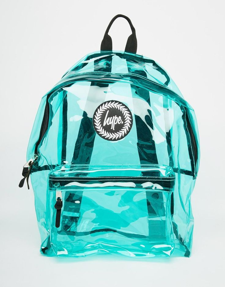 Image 1 ofHype Backpack in Green Perspex