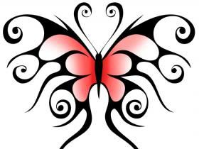 tribal butterfly tattoos photo: tribal-butterfly-tattoos tribal-butterfly-tattoos-2.jpg