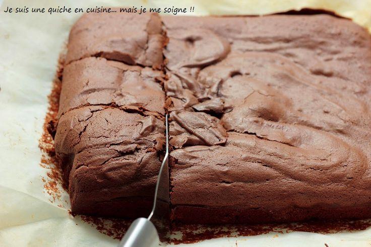 Le gâteau au chocolat du dimanche soir : un brownie au yaourt !!