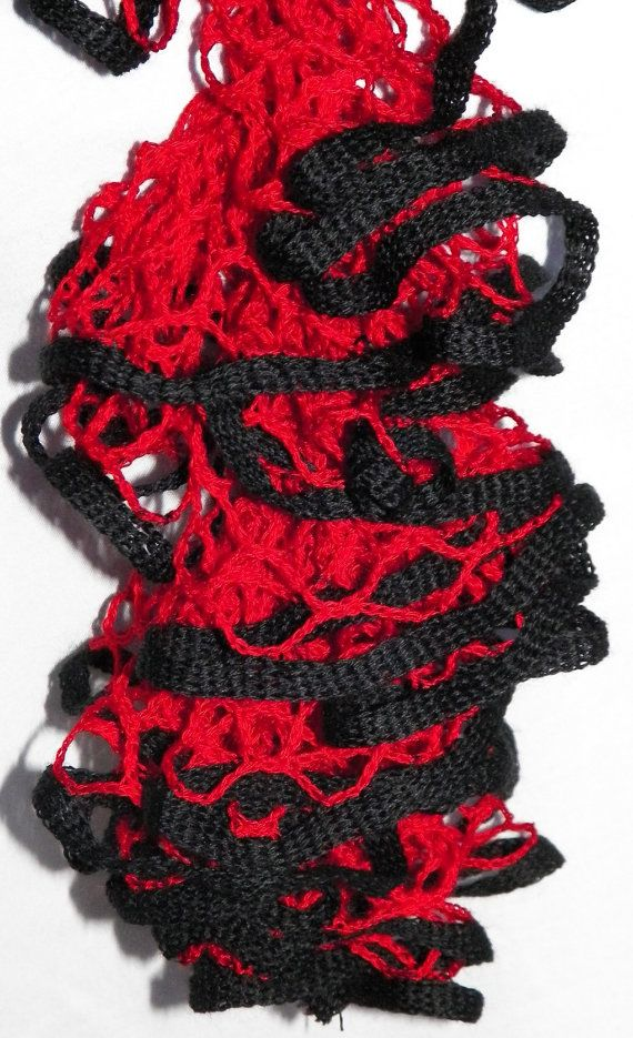 126 best what you can do with ruffle yarn images on pinterest free shipping in usa hotshot crochet ruffle scarf starbella crochet scarf red dt1010fo