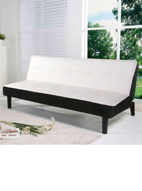 wichita capillus white futon bed