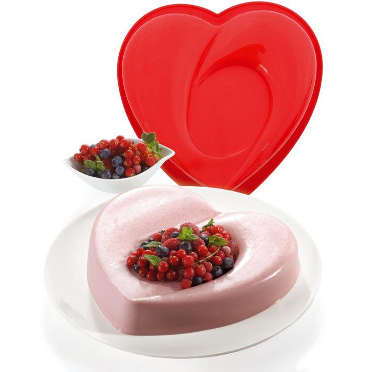 Moule à gâteau en forme de cœur régaler ceux que vous aimez !