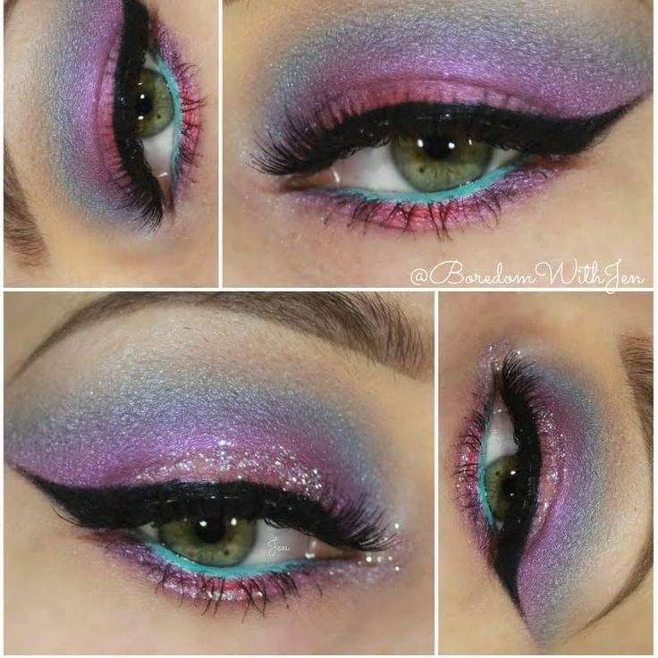 @Boredomwithjen got us excited for IT: Spring-inspired eyelook made using @ITCosmetics gift!