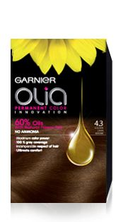 Garnier Olia  Hair Color 4.3 Castaño dorado Pack