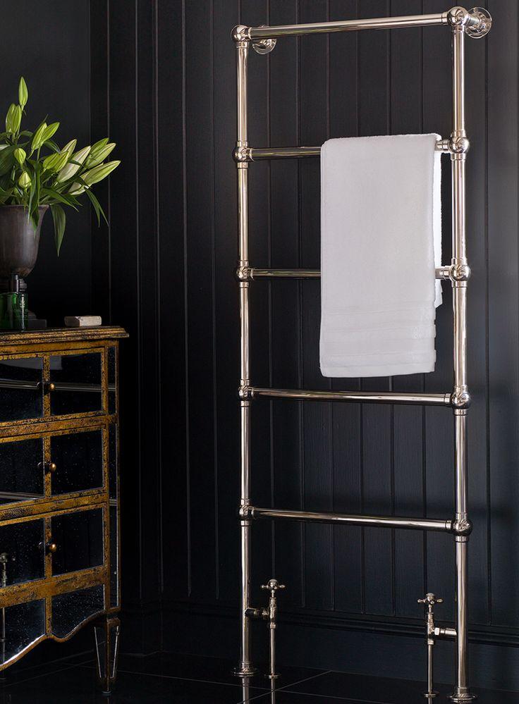 The Ladder Towel Rail Silver Nickel