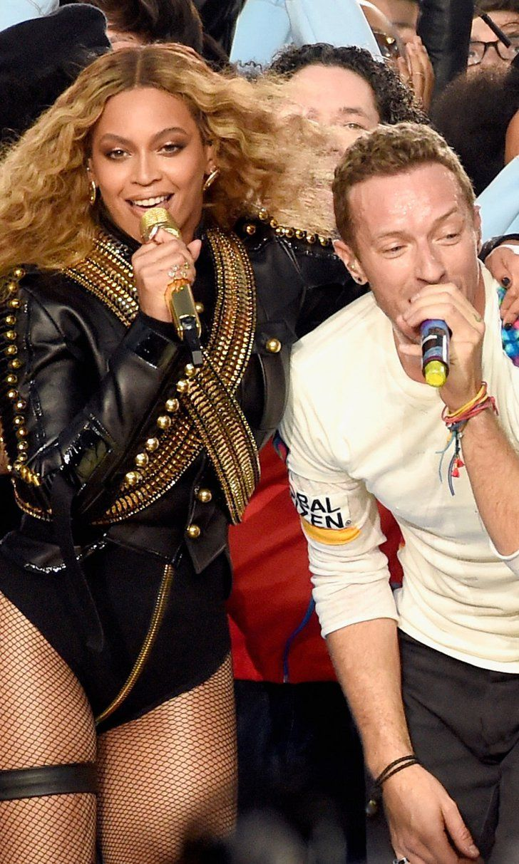 Pin for Later: Watch Coldplay, Beyoncé, and Bruno Mars Unite For the Super Bowl Performance of Your Dreams