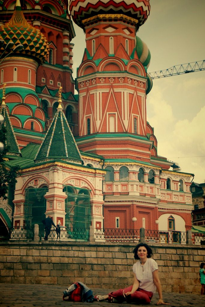 St. Vasil's Cathedral on Red Square
