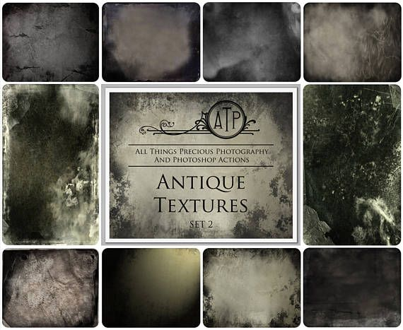 Fine Art Digital ANTIQUE vintage Textures / Overlays SET 2