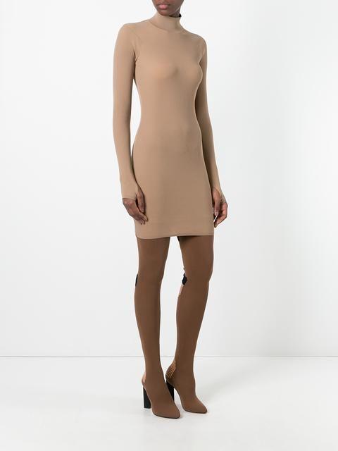 Yeezy мини-платье с высоким воротом 'Season 3'