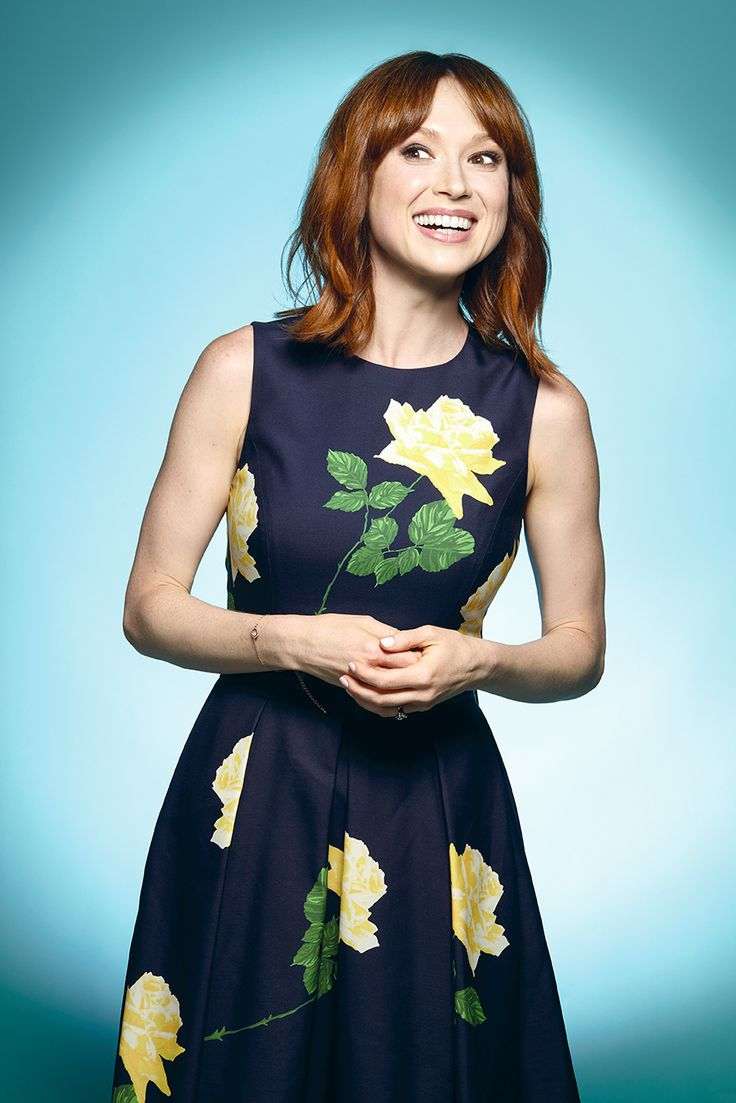 Ellie Kemper photographed by Corina Marie Howell for The Wrap