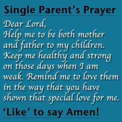 Prayer for a single parent