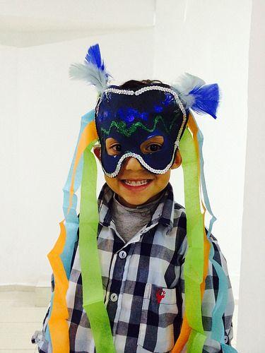 BAC Kids Taller infantil de máscaras. Exhibición Imagen de la Emoción. #BAC #pintura #emoción #paint #emotion #kids #arte #contemporaneo