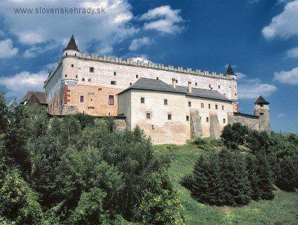 Slovakia, Zvolen - Castle