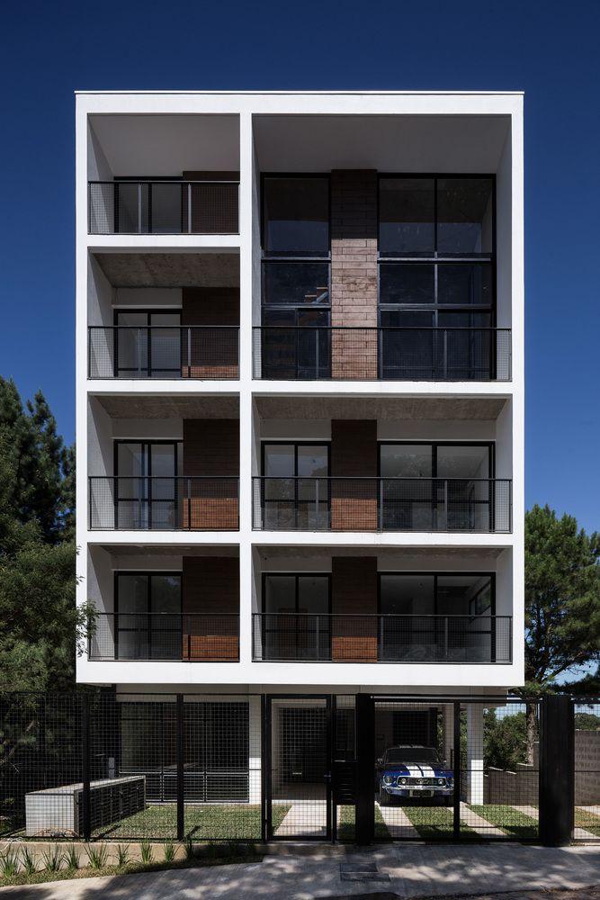 Las 25 mejores ideas sobre fachadas de edificios modernos for Arquitectura departamentos modernos