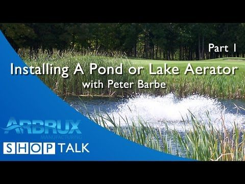 How to Install a Pond or Lake Aerator - Part 1 - YouTube