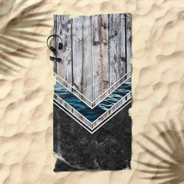 #wood #wooden #marble #stone #sea #ocean #stripe #stripes #striped #nature #texture #towel #beach
