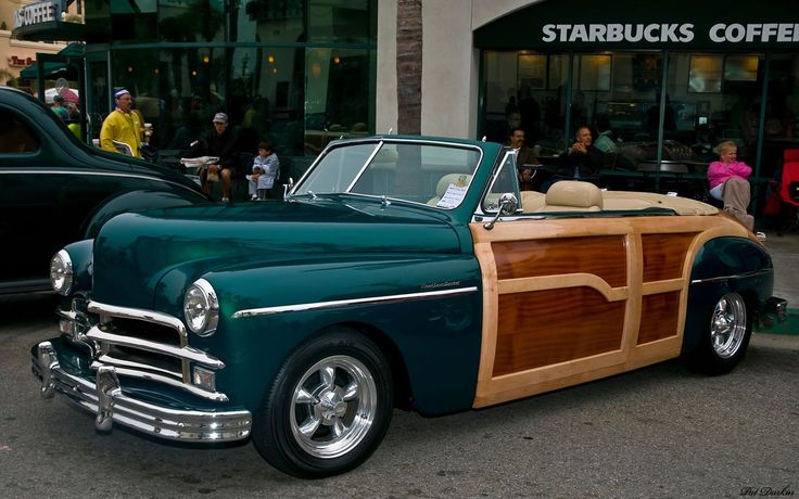 1949 Plymouth Woody Convertible