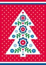 Kerstkaart Liefs uit Holland kerstboom @artasja