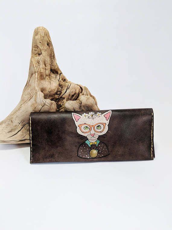 Check out this item in my Etsy shop https://www.etsy.com/ca/listing/562362304/unique-womens-leather-wallet-womens