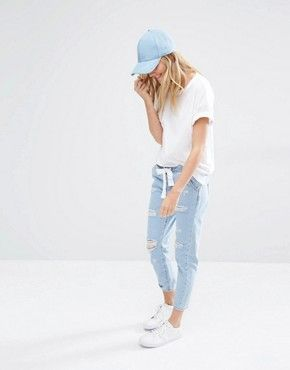 mango denim jogger: http://asos.do/1wkEzW