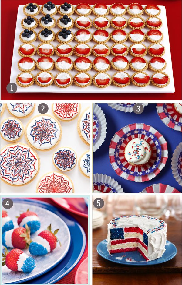 Th Of July Dessert Ideas Food Network