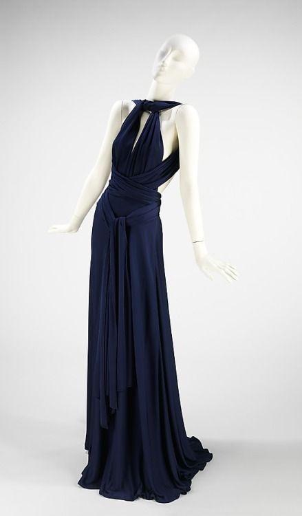 Dress Halston, 1972 The Metropolitan Museum of Art