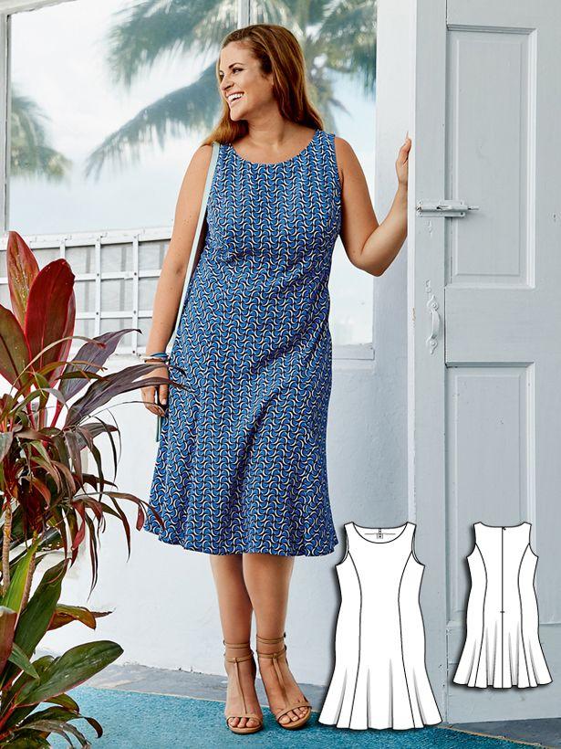 73 Best Dress Sewing Patterns Images On Pinterest Patron De
