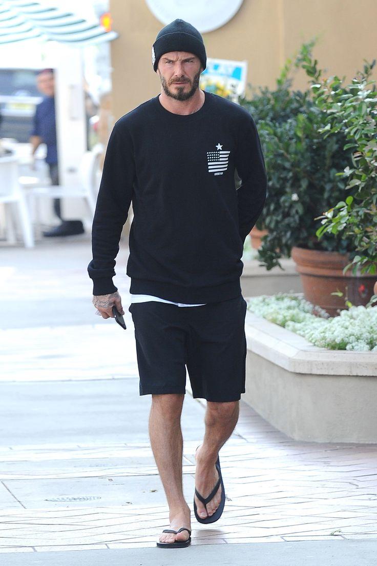 The David Beckham Look Book   GQ