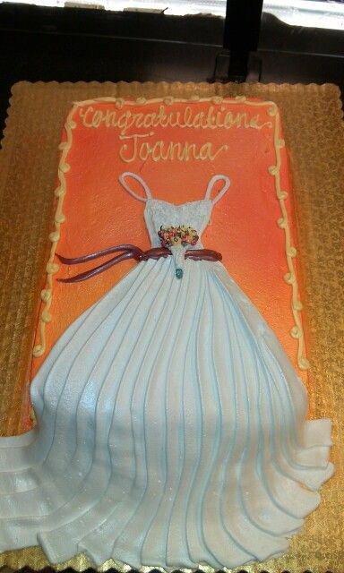 Bridal shower fall theme sheet cake my cakes pinterest colors sheet cakes and bridal - Bridal shower theme ideas for fall ...