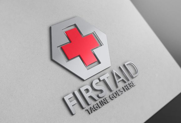 First Aid Logo by @Graphicsauthor