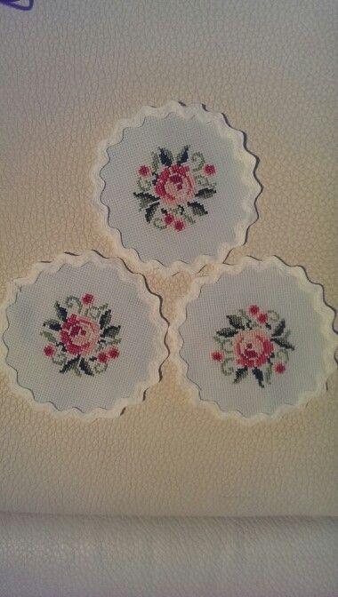 Coasters cross stitch