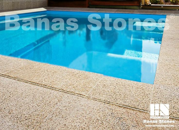 Banas Amber Pool Coping Available at our store at 3500 Mavis Rd, Mississauga, ON L5C 1T8