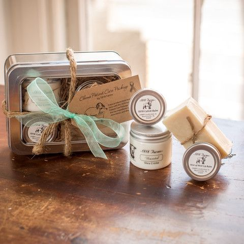 After a special request, we developed a kit that includes some of our most popular, all natural products. For those going through the chemotherapy process, these products have been packaged together t