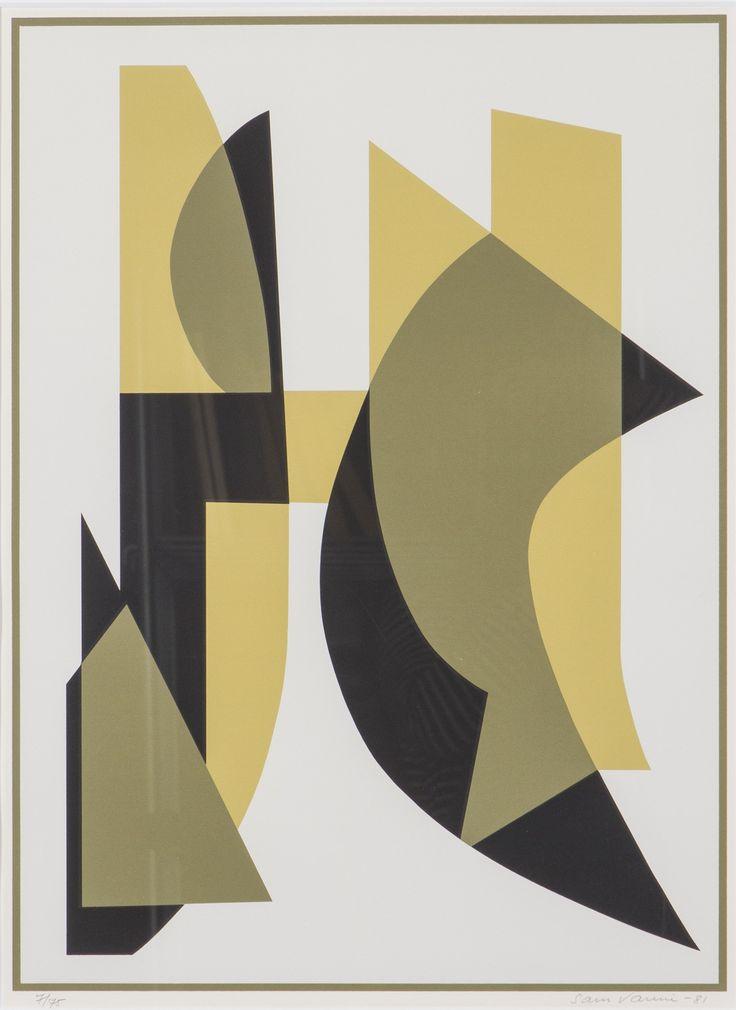 Sam Vanni, litografia, 62x45 cm, edition 7/75 - Hagelstam A148