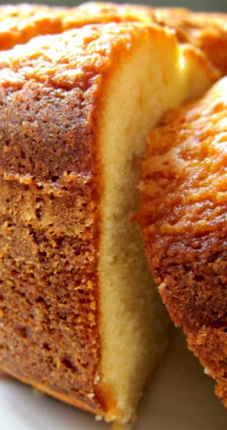 "Nana's Pound Cake ~ This wonderful pound cake travels well and can be ""Dressed Up"" With a glaze of your choice or is pretty just dusted with powdered sugar... Good for breakfast, snacks and after dinner with coffee."