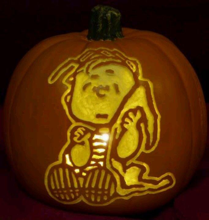 Best it s the great pumpkin carvings charlie brown